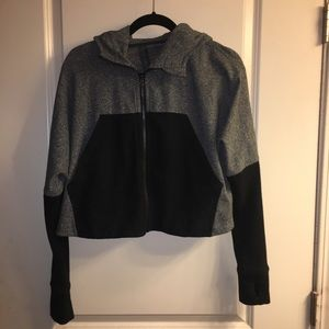 Lululemon Cropped Zip Hooded Jacket